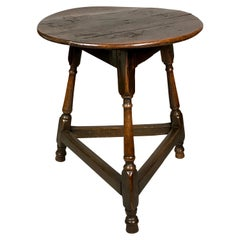 George III Oak Cricket Table