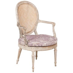 George III Open Armchair
