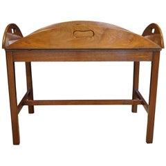 George III Oval Mahogany Butlers Tray
