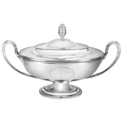 George III Oval Soup Tureen and Cover