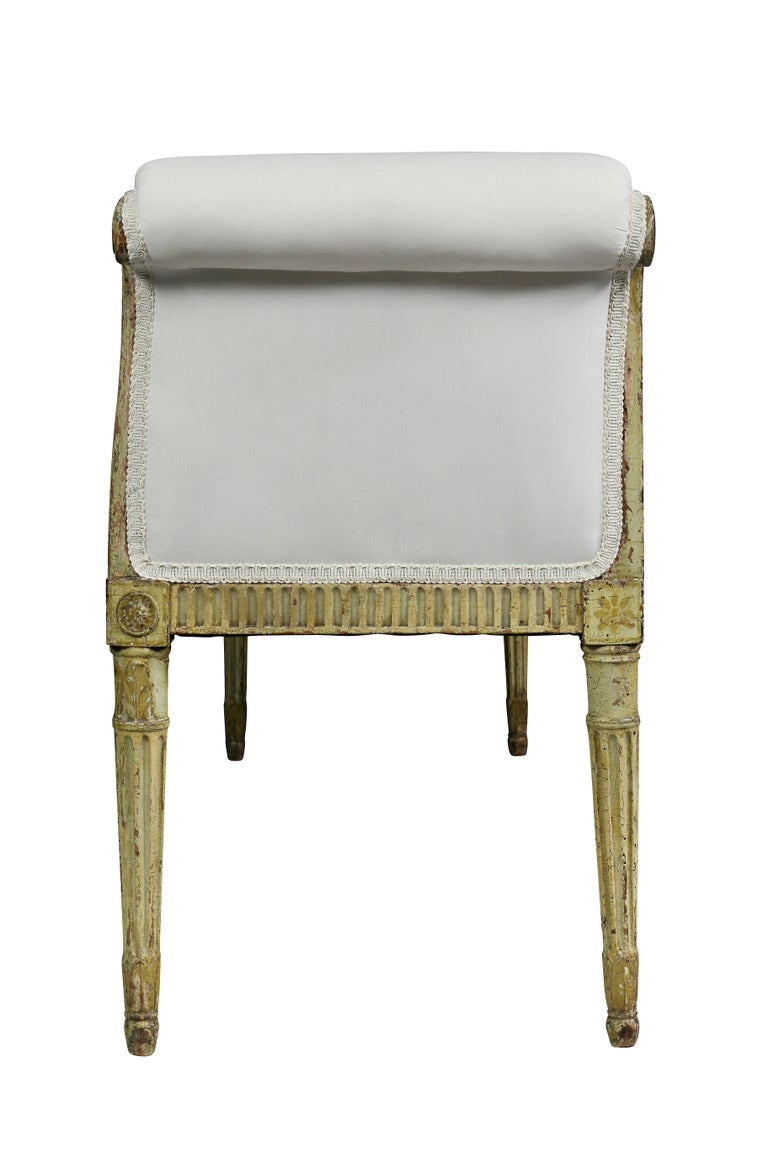 George III Painted Window Bench For Sale 4