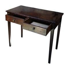 George III Period Mahogany Side Table, c.1800