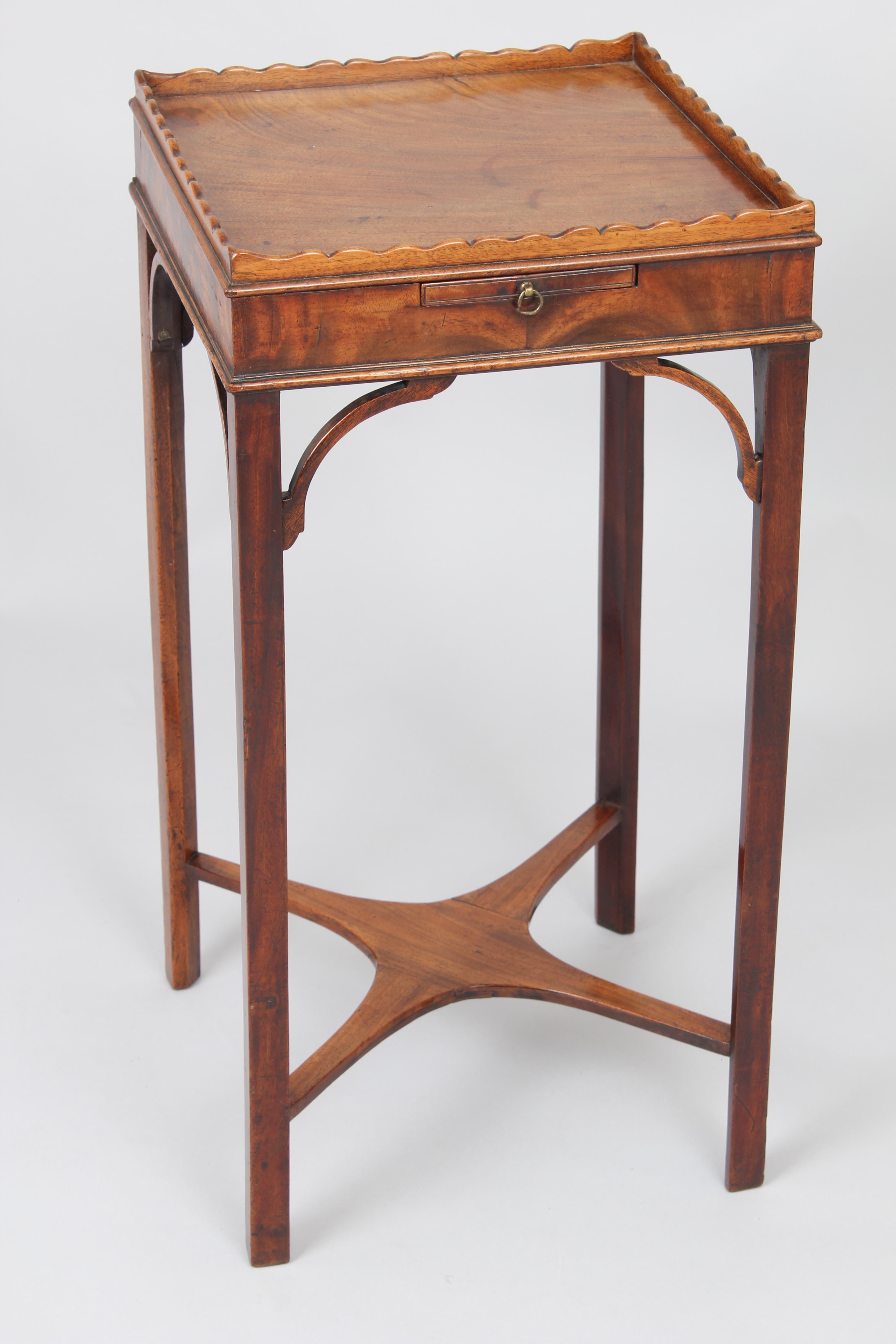 George III Period Mahogany Urn-Stand