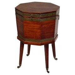 George III Period Mahogany Wine Cooler