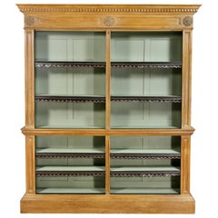 George III Pine Bookcase