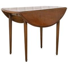 George III Provincial Mahogany Dining Table