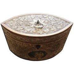George III Rolled Paper Tea Caddy