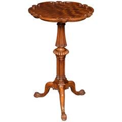 George III Satinwood Tripod Table