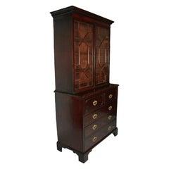George III Secretaire Bookcase, 18th Century