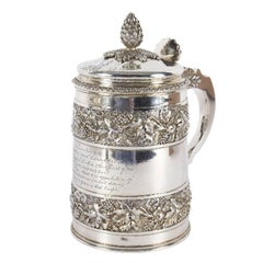 George III Silver and Silver-Gilt Tankard, Rebecca Emes & Edward Barnard, 1814