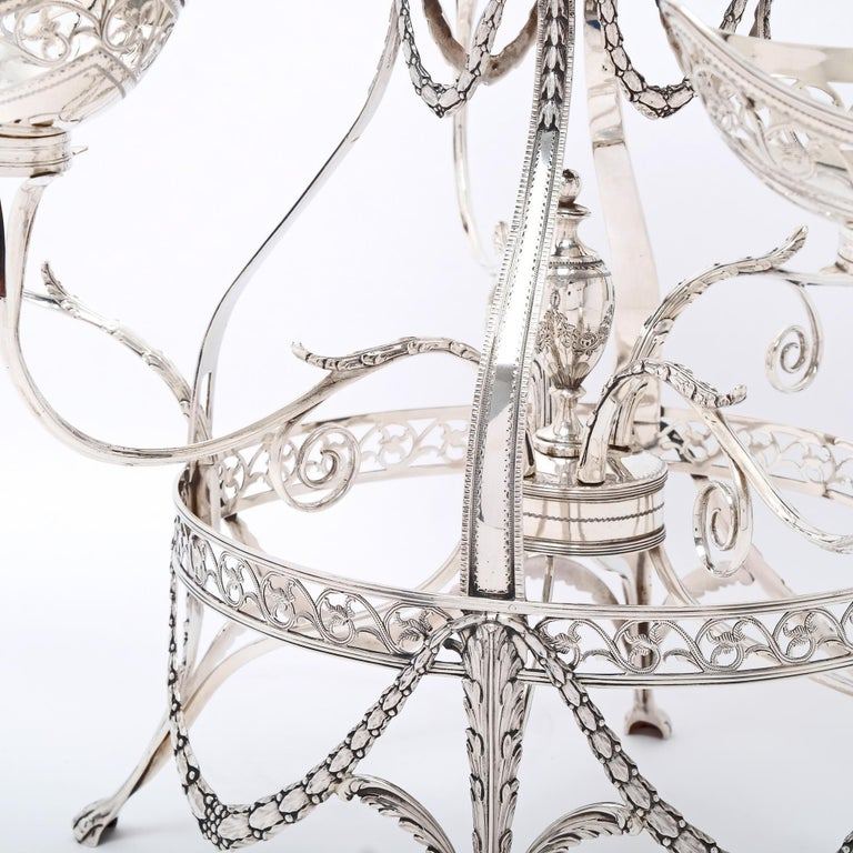 English George III Silver Épergne For Sale