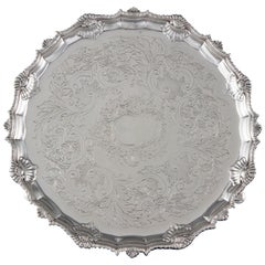 George III Silver Salver, London, 1763