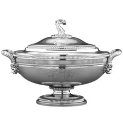 George III Silver Soup Tureen by Paul Storr