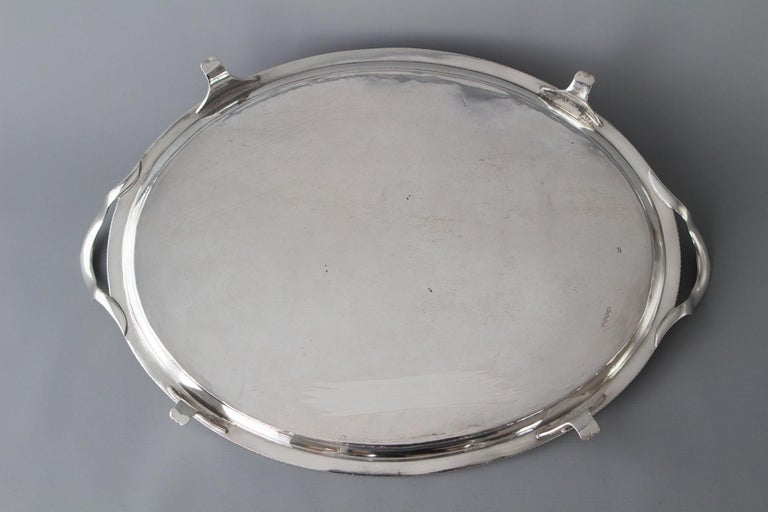 George III Silver Tea/Drinks Tray, London, 1811 For Sale 6
