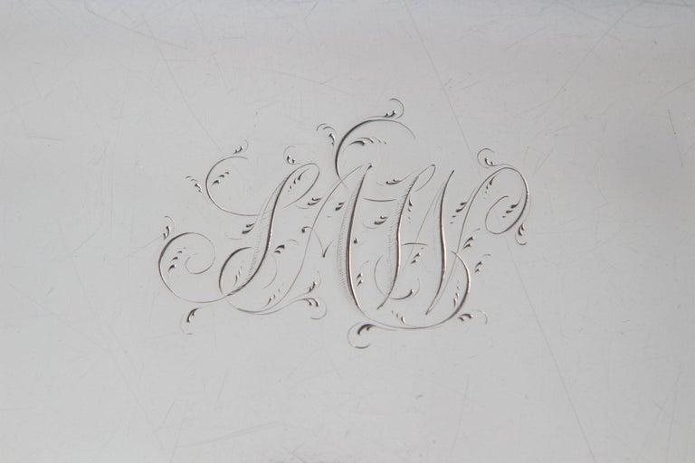Sterling Silver George III Silver Tea/Drinks Tray, London, 1811 For Sale
