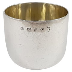 George III Sterling Silver Tumbler Cup, 1790
