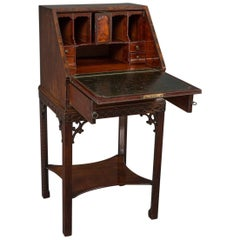 George III Small Bureau on Stand