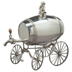 George III Sterling Silver Jolly Wagon
