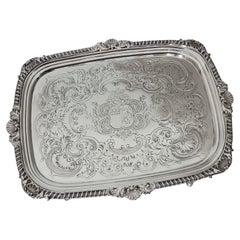 George III Sterling Silver Salver, William Bennett, 1809