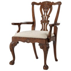 George III Style Dining Armchair
