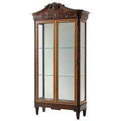 George III Style Display Cabinet
