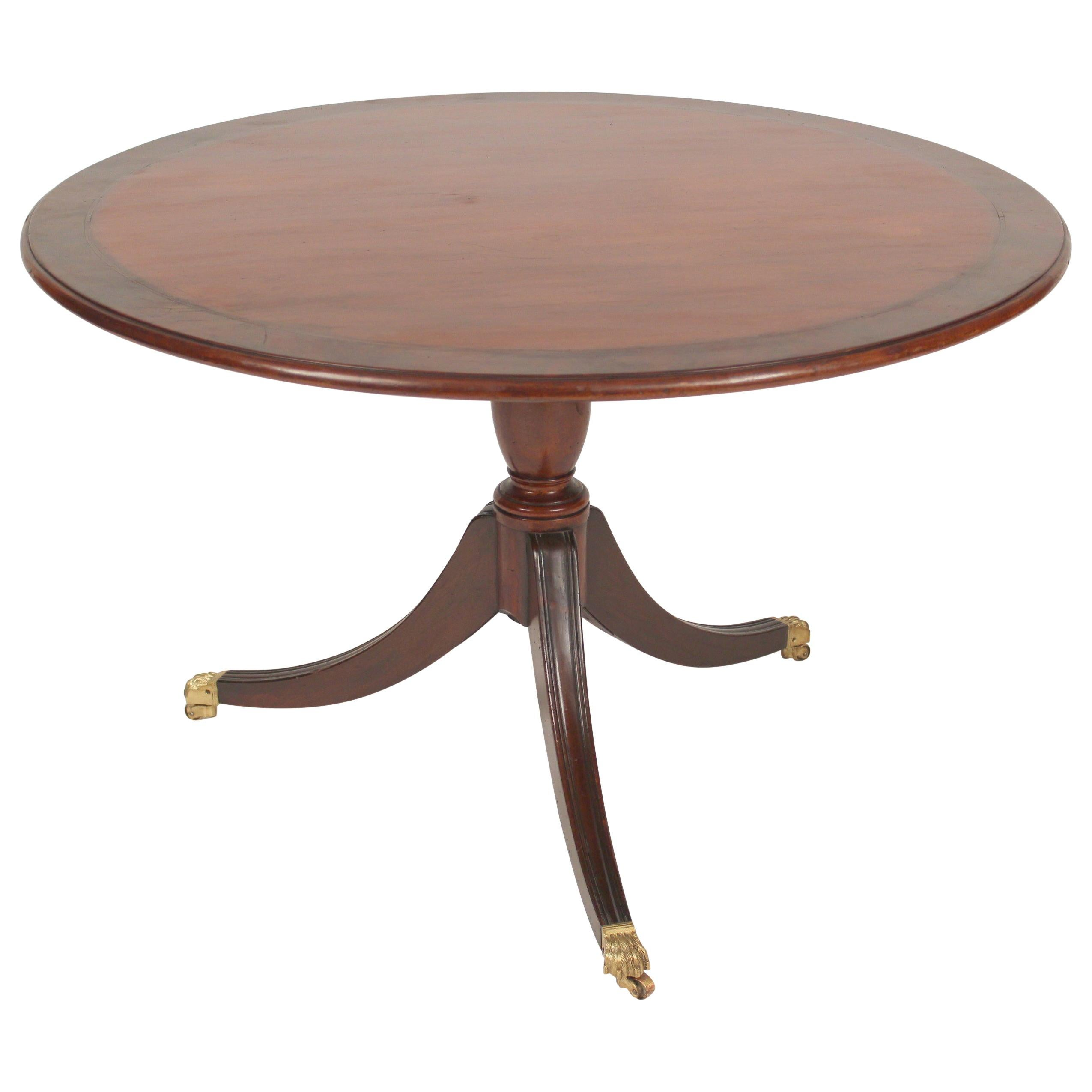 George III Style Mahogany Games / Center Table