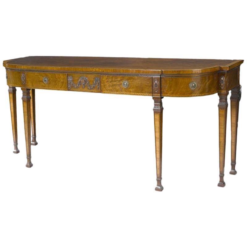 George III Style Mahogany Sideboard, 19th Century