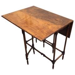 George III Style Mahogany Spider Leg Table