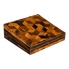 George IV Calamander and Specimen Parquetry Writing Slope