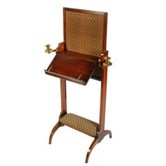 George IV Combination Music Stand, Fire Screen and Foot Rest, circa 1820