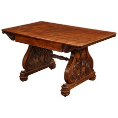 George IV Mahogany Center Table in the Manner of Tatham