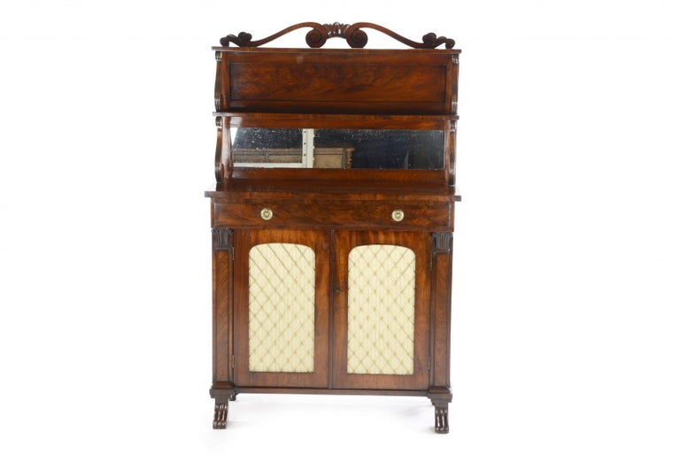 George IV Mahogany Chiffonier by Gillows of London and Lancaster For Sale 1