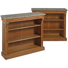 George IV Oak Bookcases