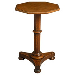 George IV Octagonal Oak Table