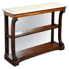 George IV Rosewood Console Table