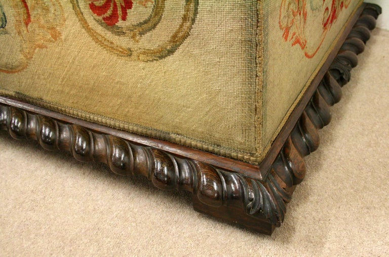 George IV Rosewood Ottoman, circa 1830 In Good Condition For Sale In Edinburgh, GB