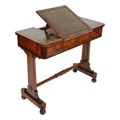George IV Rosewood Writing Table, 19th Century