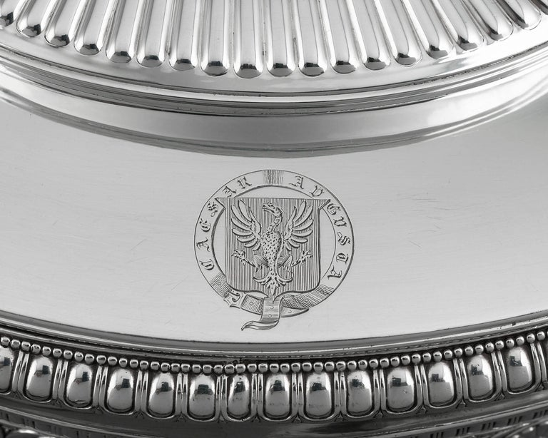 English George IV Silver Tureen by Paul Storr  For Sale