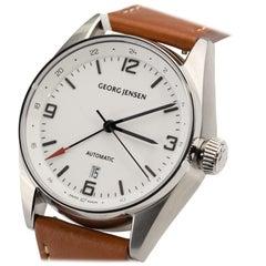 George Jensen Delta GMT Automatic Watch