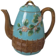 George Jones Blossom Teapot And Cover