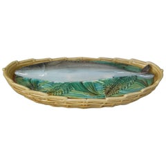 George Jones Majolica Mackerel Tureen