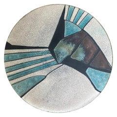 George Kernan Large Raku Bowl