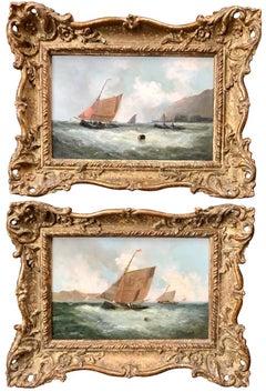 Pair of Marine Scenes
