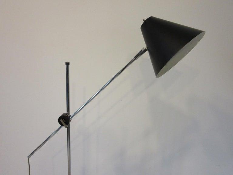 Mid-Century Modern George Kovacs Adjustable Floor Lamp For Sale