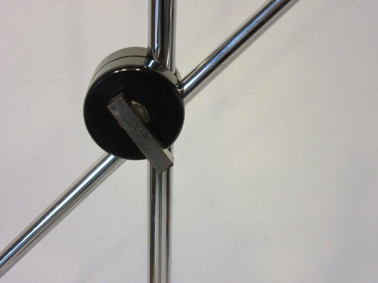George Kovacs Adjustable Floor Lamp In Good Condition For Sale In Cincinnati, OH