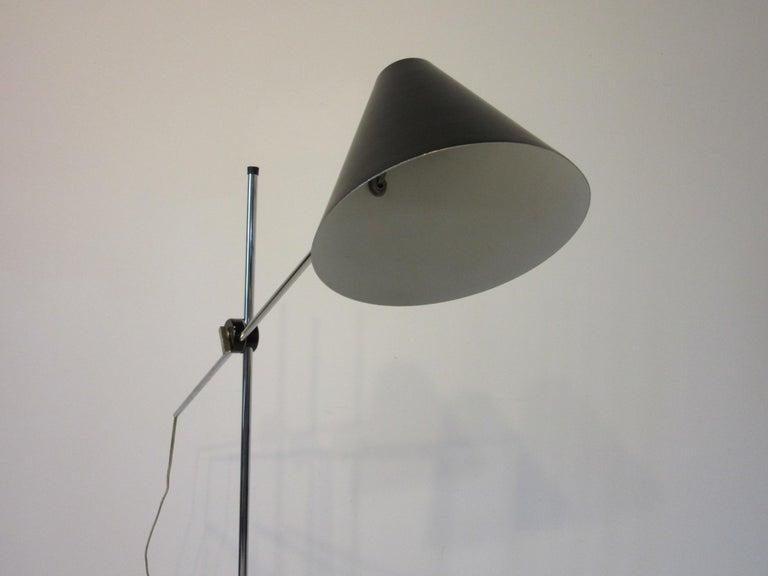 Metal George Kovacs Adjustable Floor Lamp For Sale