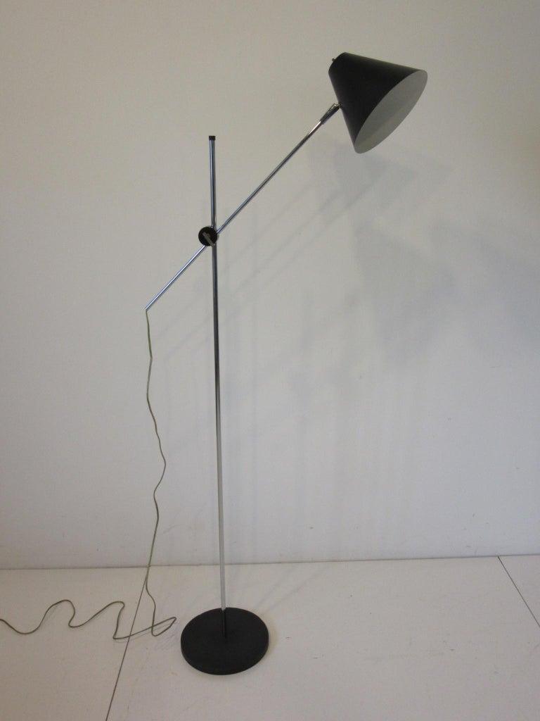 George Kovacs Adjustable Floor Lamp For Sale 1