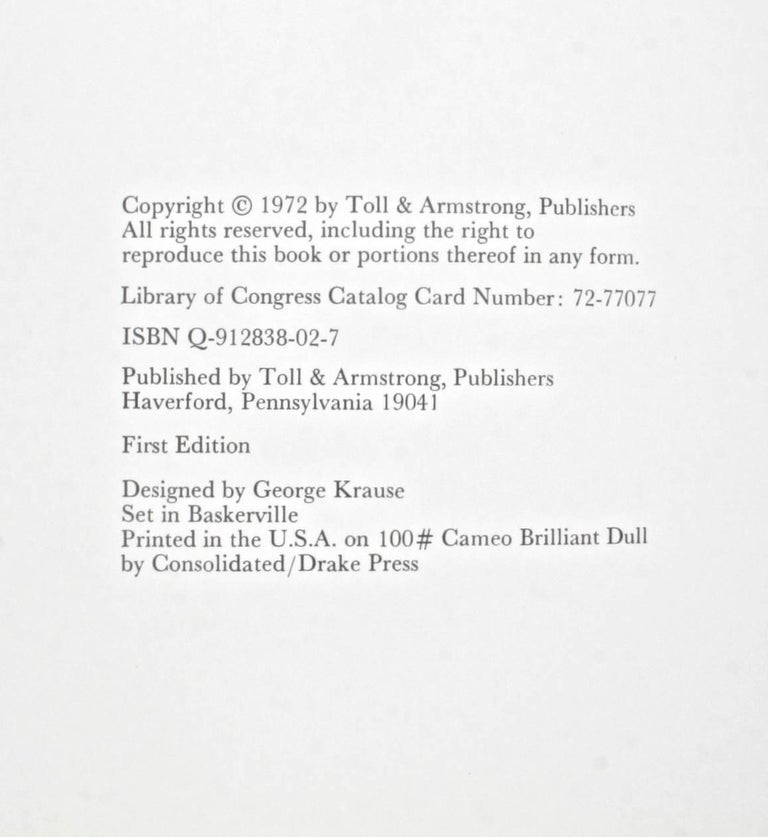 George Krause-1 First Edition For Sale 14