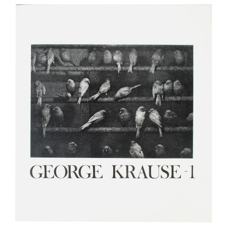 George Krause-1 First Edition For Sale