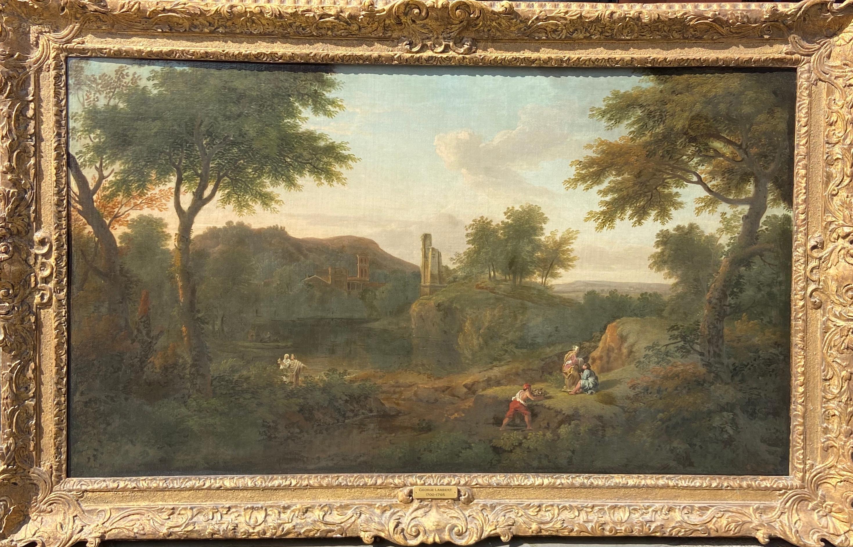 Stunning 18th Century Landscape By George Lambert
